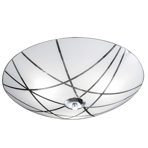 Keuken Plafondlamp : Luxe moderne plafondlamp glas keuken