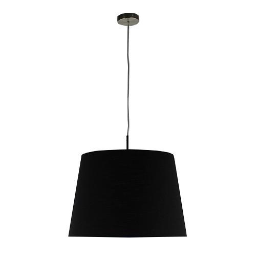 Hanglamp kap zwart, eettafel,slaapkamer