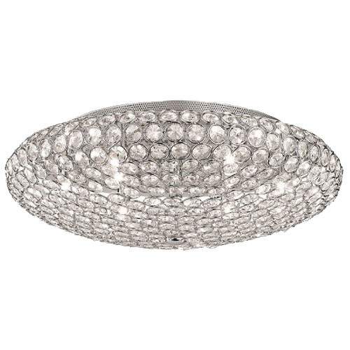Beschrijving Chique plafondlamp kristal slaapkamer