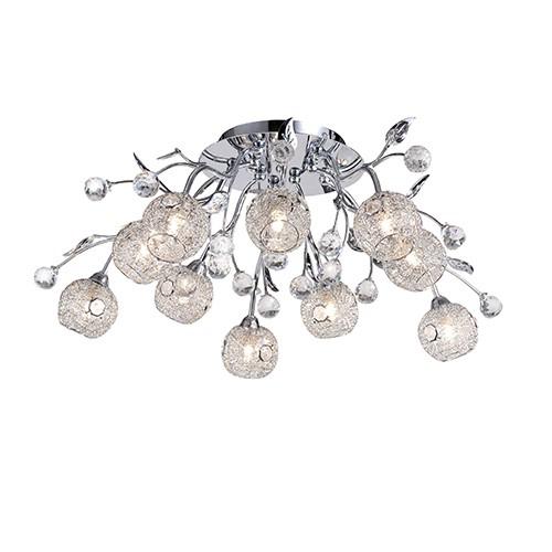 Beschrijving Mooie plafondlamp slaapkamer kristal