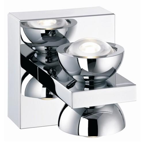 Beschrijving *Design wandlamp LED chroom keuken-hal