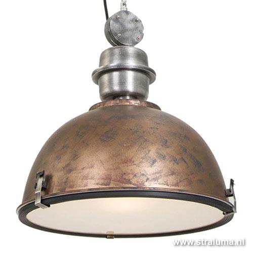 Industriele Hanglamp Keuken : Industri?le hanglamp bruin/brons tafel Straluma