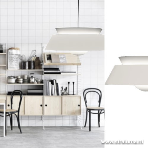 Moderne Keuken Hanglamp : Moderne Hanglamp Keuken : Moderne hanglamp wit Cuna keuken Straluma