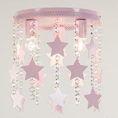 verlichting voor de babykamer roze