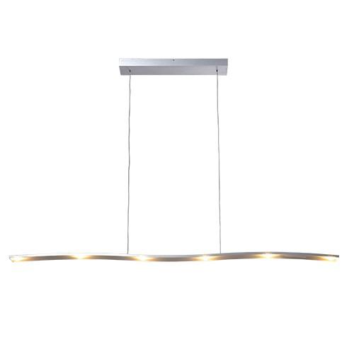 Hanglamp design led aluminium eettafel   Straluma