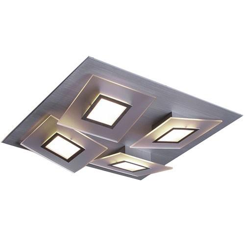 Design plafondlamp led square straluma for Design plafondlamp