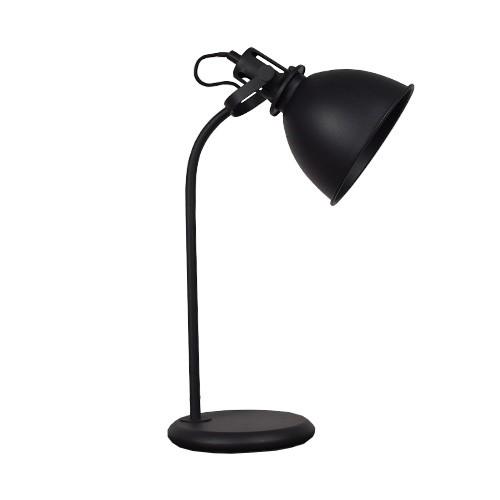 Industri le tafel bureaulamp mat zwart straluma for Industriele bureaulamp