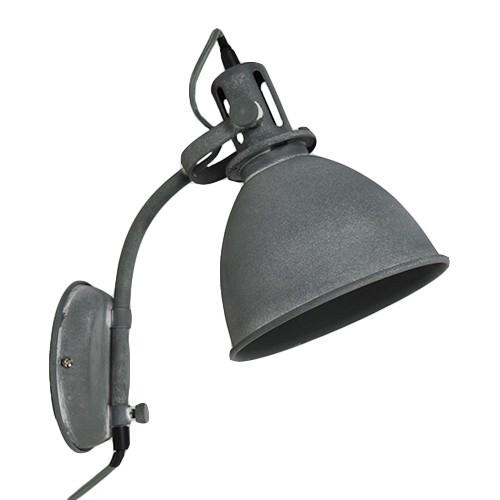 Industriele wandlamp betonlook leeslamp straluma for Wandlamp woonkamer