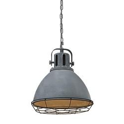 Aanbieding hanglamp industrie betonlook