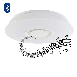 *Aanbieding Led plafondlamp met speaker