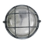 Industriele Wandlamp of plafondlamp rond