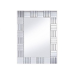 *Moderne spiegel facet geslepen gang