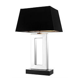 Tafellamp arlington zilver en zwart straluma - Grote tafellamp ...