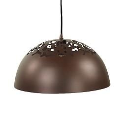 Opengewerkte hanglamp bruin Bella keuken