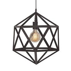 moderne hanglamp cubo zwart slaapkamer  straluma, Meubels Ideeën