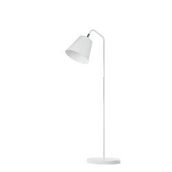 **Scandinavische vloerlamp woonkamer wit