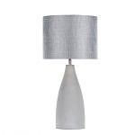Grote betonnen schemerlamp-tafellamp