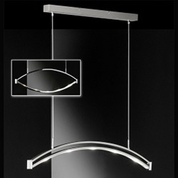 *LED Outlet Hanglamp  Lucy verstelbaar