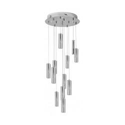 Vide-plafondlamp modern kristal chroom