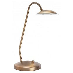 Klassieke tafellamp LED brons dimbaar
