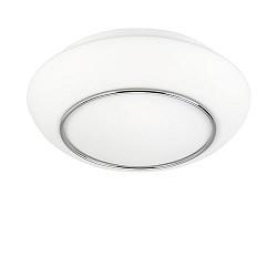 Badkamerlamp plafond Tornado IP44 wit