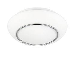Plafondlamp badkamer Tornado wit IP44