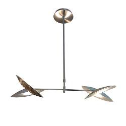 Hanglamp LED staal verstelbaar, eettafel