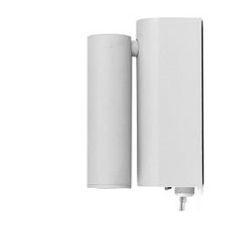 Grijze bedlamp-wandlamp LED verstelbaar
