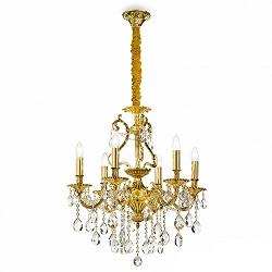 **Klassieke hanglamp/kroonluchter goud