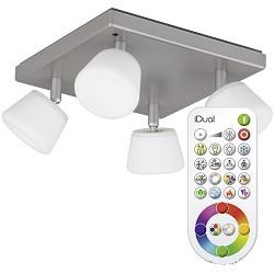 Idual plafondlamp Emerald LED met remote