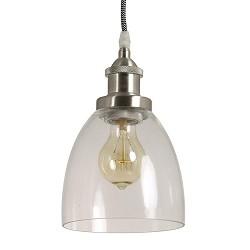 *Hanglamp Ivette nikkel keuken-hal-wc