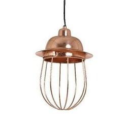 *Hanglamp koper klassiek Frida Bindi