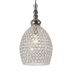 **Romantische hanglamp Elza kristal