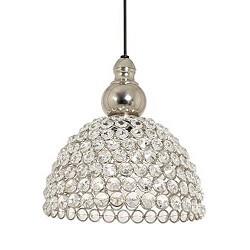 Romantische hanglamp kristal Elly