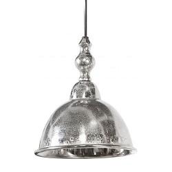 Landelijke hanglamp Amelia zilver