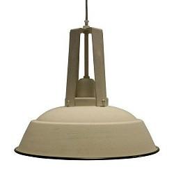 *Landelijke hanglamp Inez creme/beige