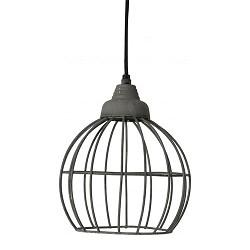 Landelijke hanglamp Benthe beton look