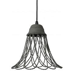 *Landelijke hanglamp Beverly beton-look