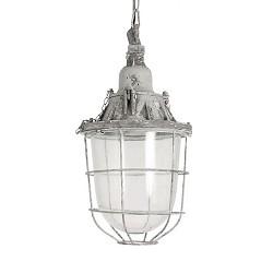 **Industriële hanglamp Quarry grijs gr.