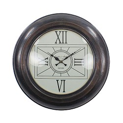 **Landelijke klok Franklin antiek brons