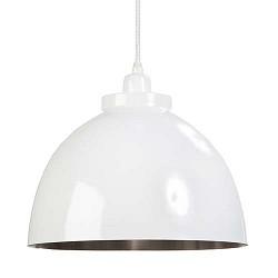 Kylie hanglamp wit klein staal keuken