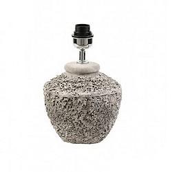 Grove betonnen tafellamp-voet Toba