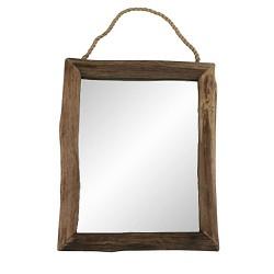 Landelijke Spiegel hout scandinavisch 60