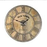 Houten klok industrieel Old Town Baily