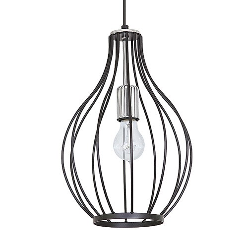 draad hanglamp zwart chroom slaapkamer  straluma, Meubels Ideeën