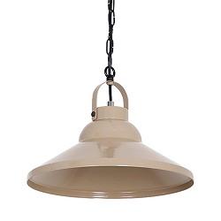 *Beige hanglamp kap metaal bar-keuken