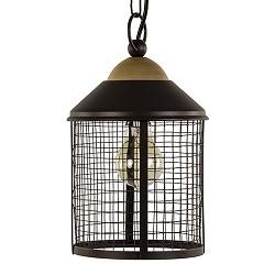 Landelijke bruine hanglamp-lantaarn hal
