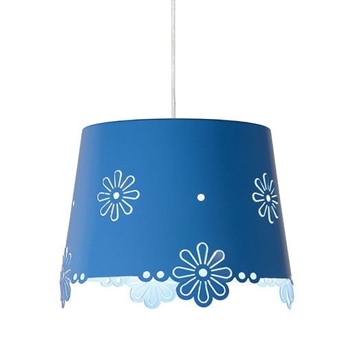 Deborah hanglamp blauw kinderkamer  Straluma