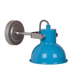 *Wimpy wandlamp blauw jongenskamer