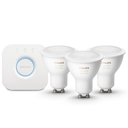 Philips Hue kit 3xgu10 color+ bridge